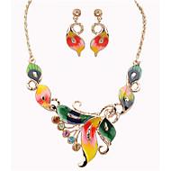 preiswerte -Vintage / Party-Damen-Halskette / Ohrring(Legierung)