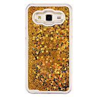 Quicksand Sparkle Stars Luxury PC Back Case for Samsung Galaxy J5/J1/J1 Ace/G360/G530/9082