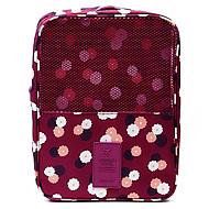 preiswerte Alles fürs Reisen-Reisekoffersystem Reiseschuhtasche Tragbar Kulturtasche für Kleider Schuhe Stoff / Blumen Reise