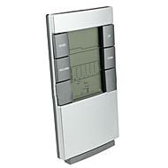indoor elektronische thermometer met de tijd achterlicht weerbericht wekker
