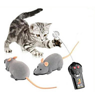 cheap RC Toys-Remote Control Building Kit Animals Toys Remote Control / RC Walking Mouse 1 Pieces Halloween Children's Day Gift