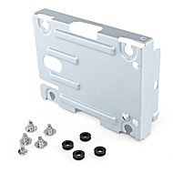 """Hard Disk Drive  Mounting Bracket Stand Kit Replacement 2.5"""" for Sony PS3  Super Slim Console  with Screws"""