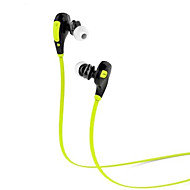 お買い得  -qy7スポーツは、スマートフォン用のマイクを耳にブルートゥース4.1ステレオヘッドセットを着用