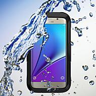 Недорогие Чехлы и кейсы для Galaxy S7 Edge-Кейс для Назначение SSamsung Galaxy Samsung Galaxy S7 Edge Защита от удара Чехол броня ПК для S7 edge / S7