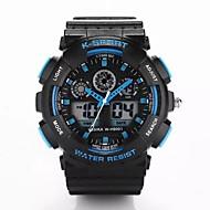 Hombre Reloj Deportivo Digital Plastic Banda De Lujo Negro