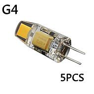 お買い得  LED コーン型電球-G4 LEDキャビネットライト T 1 LEDの COB 装飾用 温白色 クールホワイト 3000/6000lm 3000K,6000KK DC 12 AC 12V