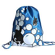 billiga -dragsko ryggsäck blå, rosa, röd, silver