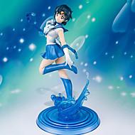 Anime Akciófigurák Ihlette Hold matróz Merkúr matróz PVC 19 CM Modell játékok Doll Toy