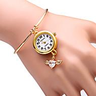 Χαμηλού Κόστους Επώνυμα ρολόγια-JUBAOLI Γυναικεία Βραχιόλι Ρολόι Μοδάτο Ρολόι Χαλαζίας κράμα Μπάντα Λάμψη Heart Shape Χρυσό
