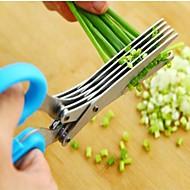お買い得  キッチン用小物-キッチンツール ステンレス鋼 クリエイティブキッチンガジェット はさみ 野菜のための