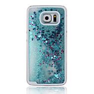 Для Кейс для  Samsung Galaxy Движущаяся жидкость Кейс для Задняя крышка Кейс для Сияние и блеск PC Samsung A5(2016)