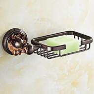 abordables Gadgets de Baño-Plato para Jabón / Dorado Neoclásico