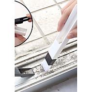 abordables Escobillas y cepillos de mano-herramienta de limpieza de cepillo plegable de ranura de ventana