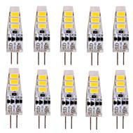 abordables Compre Más, Ahorre Más-YWXLIGHT® 10pcs 2W 200 lm G4 Luces LED de Doble Pin T 6 leds SMD 5730 Decorativa Blanco Cálido Blanco Fresco DC 12V