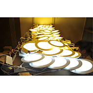 led lumina panou 30pcs smd 2835 500-550lm cald alb rece alb natural naturale 2800-6500k decorative ac 85-265v
