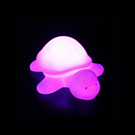 voordelige Draagbare verlichting-creatieve kleur veranderende acryl regenboog schildpad geleid kleurrijke nachtverlichting mooie woondecoratie