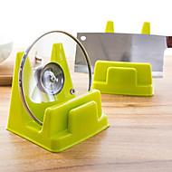 voordelige Keuken Gerei-praktische keuken pot rack multifunctionele display rekken uitlekken willekeurige kleur