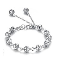 cheap -Women's Chain Bracelet Unique Design Love Fashion Alloy Others Heart Jewelry Christmas Gifts Casual Costume Jewelry Silver