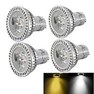 tanie Żarówki punktowe LED-3000/6000 lm GU10 Żarówki punktowe LED R63 3 Diody lED High Power LED Przysłonięcia Dekoracyjna Ciepła biel Zimna biel AC 85-265V AC