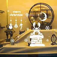 애니멀 / 크리스마스 / 로맨스 / 휴일 벽 스티커 플레인 월스티커,vinyl 42*47.3cm