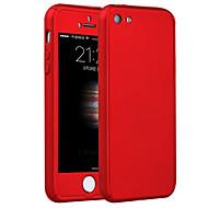 Недорогие Кейсы для iPhone 8 Plus-Кейс для Назначение iPhone 5 Apple iPhone 8 iPhone 8 Plus Кейс для iPhone 5 Защита от удара Кейс на заднюю панель броня Твердый ПК для