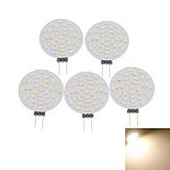 halpa -SENCART 5pcs 3 W LED-kohdevalaisimet 400-480 lm G4 MR11 36 LED-helmet SMD 3014 Koristeltu Lämmin valkoinen Kylmä valkoinen 12 V / 5 kpl / RoHs