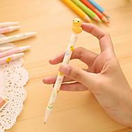 お買い得  文房具-ペン ペン ボールペン ペン, プラスチック ブルー インク色 For 学用品 事務用品 のパック