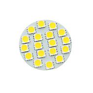 olcso LED szpotlámpák-G4 gu4 gz4 mr11 5w 18smd 5054 450-480lm 3500-6500k fehér / hideg / meleg fehér led spotlámpa izzó dc12v