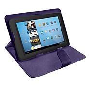 お買い得  タブレット用アクセサリー-ケース 用途 ユニバーサル フルボディケース スタンド付き フルボディーケース 純色 ハード PUレザー のために