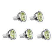 olcso LED szpotlámpák-6 W 500-550 lm GU10 LED szpotlámpák 48 led Meleg fehér Természetes fehér AC 100-240V
