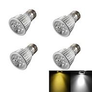お買い得  LED スポットライト-450-550 lm E26/E27 LEDスポットライト R63 5 LEDの ハイパワーLED 調光可能 装飾用 温白色 クールホワイト AC 110〜130V AC 220-240V AC85-265V
