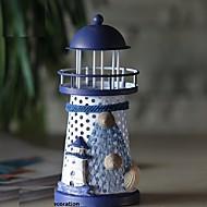 abordables Decoraciones en Madera-1pc Metal Mediterráneo / Estilo europeo para Decoración hogareña, Regalos / Objetos decorativos / Decoraciones para el hogar Regalos