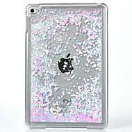 halpa iPad kuoret / kotelot-Etui Käyttötarkoitus iPad Mini 4 Läpinäkyvä Kuvio Takakuori Kimmeltävä PC varten iPad Mini 4