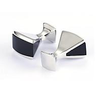 billige Smykker & Klokker-Svart Mansjettknapper Legering Kontor / Fritid Herre Kostyme smykker Til