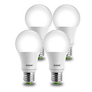 E26/E27 LED-pallolamput A60(A19) 1 COB 850-900 lm Lämmin valkoinen Kylmä valkoinen Koristeltu AC 100-240 V 4 kpl