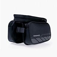 billige -ROSWHEEL Vesker til sykkelramme Mobilveske 5.5 tommers Vanntett Glidelås Anvendelig Fukt-sikker Støtsikker Berøringsskjerm Sykling til