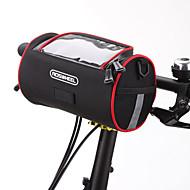billige -ROSWHEEL Vesker til sykkelstyre Skulderveske Mobilveske 6 tommers Vanntett Glidelås Anvendelig Fukt-sikker Støtsikker Berøringsskjerm