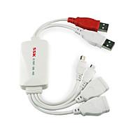 ssk shu016 4 portas USB Hub hub USB 2.0 de alta velocidade para celular