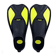 Diving Fins Adjustable Protective Short Blade Flexible Durable Diving / Snorkeling Swimming Traveling silicone for Kids Unisex Adults'