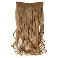20 cm hosszú Szintetikus hullámos Clip A Hair Extensions 5 Clips - 17 színben kapható