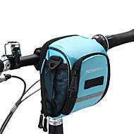 billige -ROSWHEEL® Sykkelveske 1.8LVesker til sykkelstyre Vanntett Glidelås Fukt-sikker Støtsikker Anvendelig SykkelveskePU Lær Mesh Klede 400D