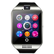q18 reloj inteligente con la cámara de la pantalla táctil para el teléfono Android y iOS