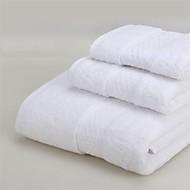 お買い得  浴室用小物-フレッシュスタイル バスタオルセット,純色 優れた品質 コットン100% ニット タオル