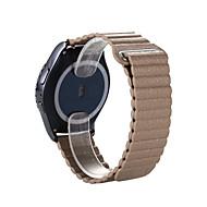 Koffie / Rood / Zwart / Blauw / Goud Leer Sportband / Klassieke gesp Voor Huawei Horloge 18mm