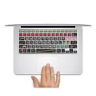 1 szt. Naklejka na obudowę na Odporne na zadrapania Kreskówka Bardzo cienkie Matowe PVC MacBook Pro 15'' with Retina MacBook Pro 15''