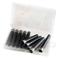 お買い得  文房具-ペン ペン 万年筆 ペン, プラスチック ブラック ブルー インク色 For 学用品 事務用品 のパック