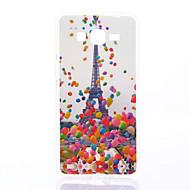 billige Etuier til Samsung-Etui Til Samsung Galaxy Samsung Galaxy etui Mønster Bagcover Eiffeltårnet Blødt TPU for Grand Prime Grand Neo Core Prime