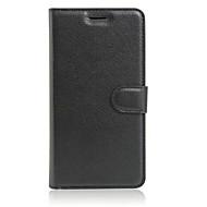 voordelige Mobiele telefoonhoesjes-hoesje Voor Asus Asus hoesje Kaarthouder met standaard Flip Volledig hoesje Effen Kleur Hard TPU voor Asus ZenFone 3 (ZE552KL)(5.5)
