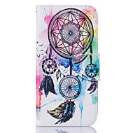 Недорогие Чехлы и кейсы для Galaxy S7 Edge-Кейс для Назначение SSamsung Galaxy Samsung Galaxy S7 Edge Бумажник для карт Кошелек со стендом Флип С узором Чехол Ловец снов Мягкий