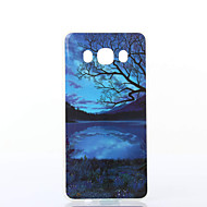 Недорогие Чехлы и кейсы для Galaxy J7(2016)-Кейс для Назначение SSamsung Galaxy Кейс для  Samsung Galaxy С узором Кейс на заднюю панель Пейзаж Мягкий ТПУ для J7 (2016) J5 (2016)